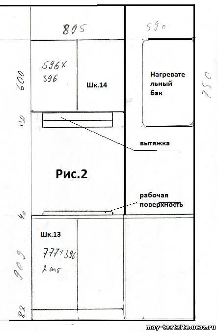 На Рис. 1 и 2 приведены схемы